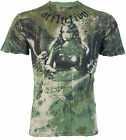 AFFLICTION Men T-Shirt BLISS Angel Tattoo Motorcycle Biker Gym MMA UFC Jeans $66 image