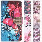 For LG K4 LTE / Spree Leather Wallet Case Pouch Flip Crocodile Skin Cover