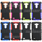 Tough Shockproof Heavy Duty Stand Hard Case for LG G3 D850 D851 D852 F400S D856