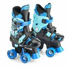 NEW EXCLUSIVE ELECTRIC BLUE OSPREY BOYS QUAD SKATES KIDS ROLLER BOOTS 3 SIZES