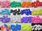 10 Novelty 25mm Opaque Teddy Bear Pony Beads - Choice of Color