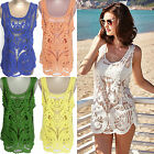 CHIC Sexy Women Bathing Suit Lace Bikini Cover Up Swimwear Summer Beach Dress