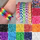 185-200pcs New Refill Loom Rubber Bands With S Clips Loom Tool DIY Bracelet CA