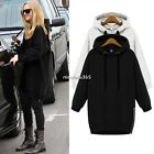 Hot Sale Women Sweats Hoodies Long Sleeve Side Zipper Plus Size Leisure Regular