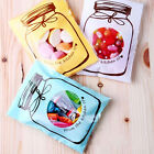 100pcs bottles pattern self-adhesive plastic bags for Handmade biscuits snack EW