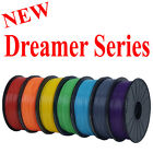 PLA ABS 1.75mm 1.5lb Filament /FlashForge Dreamer/Dremel Idea Builder 3D Printer