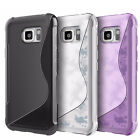 S-line Gel Silicone Rubber TPU Case Cover for Samsung Galaxy S6 Active,SM- G890A