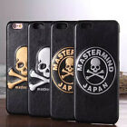 Cool Skull Design Hard Leather Cover Back Case Skin for iPhone 6 6s plus 49 T