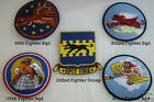 TUSKEGEE AIRMEN SQUADRON  99th, 100th, 301st, 332nd  PATCH SET US ARMY AIR CORP
