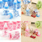 24pcs Candy Box Baby Shower Bottle Party Christening Favours Gift Blue/Pink