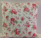 SINGLE CATH KIDSTON ROSALI FLORAL FABRIC PINK CUSHION COVERS SHABBY CHIC-STYLE