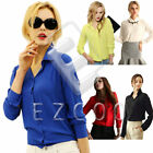 Women Casual Dress Shirt Blouse Chiffon Tops Elegant OL Turn Down Solid T-shirt