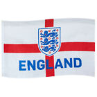 England FA Official Football Gift 3 Lions 5x3ft Crest Body Flag