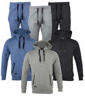 New Mens Slim Skinny Fit Designer Stretch Bottoms Joggers or Hoodie Hooded Top