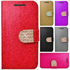 For HTC 10 Leather Premium Wallet Case Pouch Flip Phone Cover +Screen Protector