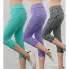New Women Yoga Gym Wear Tight Trousers Leggings Workout Running Fitness Pants