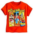 Disney Store Mickey Mouse Donald & Goofy Boys T Shirt Tee Size 5/6 7/8 10/12 NEW