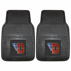 Officially Licensed NCAA Durable Rubber Front Floor Mats Universal Car Tuck New