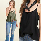 CHIC Sexy Women Lace Vest Top Sleeveless Shirt Blouse Casual Tank Tops T-Shirt