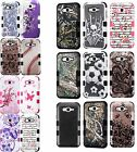 For Samsung Galaxy J7 MPACT TUFF HYBRID Protector Case Skin Phone Covers