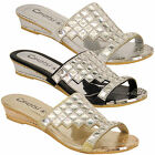 Ladies Womens Diamante Rhinestone Open Toe Sandals By Kelsi