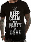 Official Bill And Ted (Keep Calm) T-shirt - All sizes