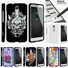 For Motorola Droid Turbo 2| Kinzie| X-Force| Slim Fit Hard 2 Piece Case Black