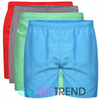 Mens Plain Swimshorts Mens Surf Board Swimming Trunks Short Swim Shorts