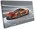 Mclaren P1 Exotic Supercar Cars SINGLE CANVAS WALL ART Picture Print