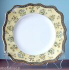 "Wedgwood India Square Salad Dessert Plate 8.25"" Scalloped Edge New"