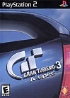 Gran Turismo 3 A-spec [PlayStation 2] disc and case (no manual) fast US shipping