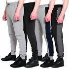 Mens Skinny Fit Joggers Mens Pique Drop Crotch Slim Fit Jog Pants Sweats Trouser