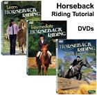 Learn HORSEBACK RIDING Equestrian Expert Tutorials on DVD Factory Sealed DVDs