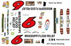 #6 Ricky Stenhouse jr Mississippi Flood Relief 2011 1/25th - 1/24th Scale Decals