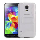 Gel TPU Stand Hard Bracket Case Cover for Samsung Galaxy S5, G900S/G900T/G900V