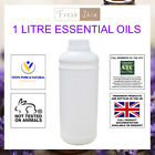 1 Litre 100% Pure Essential Oils (1000ml) - 59 different types to choose from!