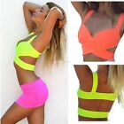 Women's Sexy Strap Bandage Shirt Blouse Bralet Bustier Cami Crop Tops Tank Ves
