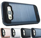 For Samsung Galaxy E5 LTE S978L Brushed Texture Slim Hybrid Case Cover+Prytool