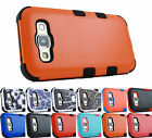 for Samsung Galaxy E5 LTE S978L | Natural Dual Layer TUFF Case Cover + PryTool