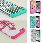 For Apple iPhone 6s 6 6s Plus Shockproof Hybrid Rubber Hard Armor TPU Cover Case