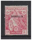 Somalia - 1916, 10c + 5c Red Cross stamp - Mint - SG 19