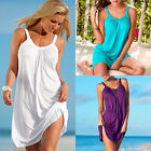 Women's Summer Casual Sleeveless Evening Party Beach Dress Short Mini Dress RR