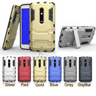 Slim Dual Layer Heavy-Duty Case For Motorola Moto X Play, XT1562