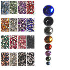 HR08 200Pcs, 2,000Pcs High Qty Nail Art Flat Acrylic Rhinestones-8mm Round