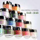 SNS Nail Color Dipping Powder No Liquid,No Primer,No UV Light 1oz 145-245