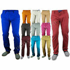 Mens Jeans Chino Non Cuffed Pants Trouser Cotton New Casual Kushiro