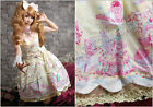Lolita princess diary rainbow sundae Fraisier halter maid dress Y JM3009