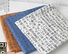 Korean writing Cotton Blend Fabric BY THE YARD Quilting craft Polycotton fCB065*
