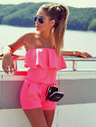 Popular New Girl Clubwear Summer Playsuit Bodycon Party Jumpsuit Romper Trousers