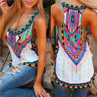 Fashion Women #B Summer Vest Top Sleeveless Shirt Blouse Casual Tank Top T-Shirt